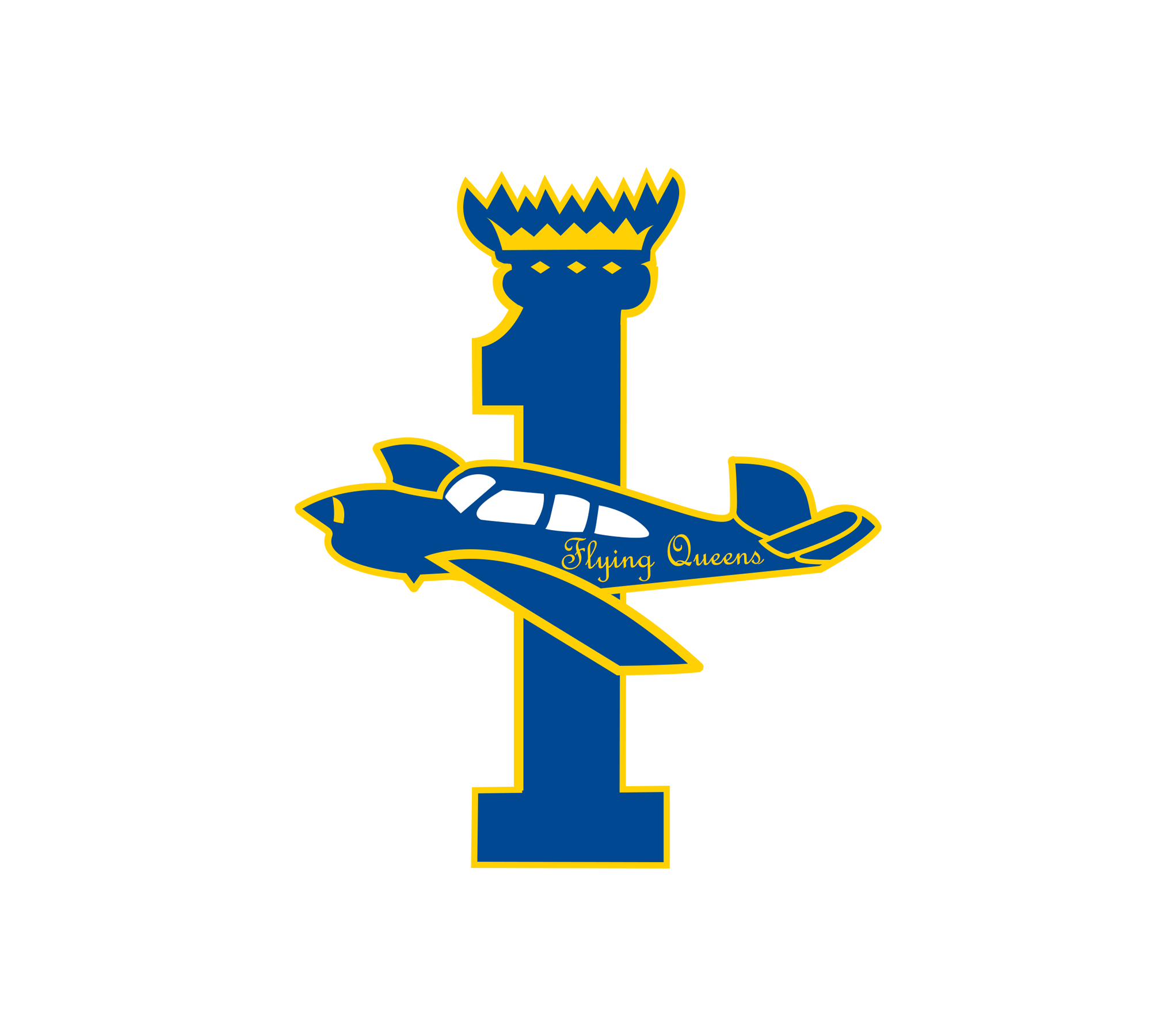 Hutcherson Flying Queens Foundation Logo